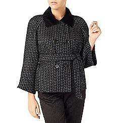 Jacques Vert - Textured Velvet Collar Jacket