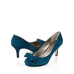 Jacques Vert - Suede Bow Shoe