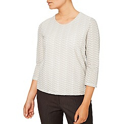 Eastex - Two Tone Textured  Top