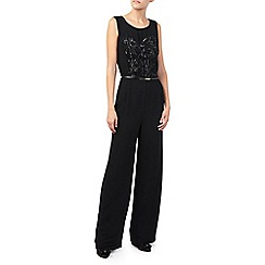Jacques Vert - Lace And Chiffon Jumpsuit