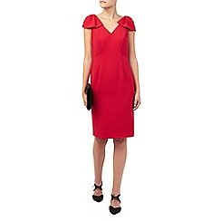 Jacques Vert - Red Bow Detail Dress