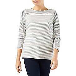 Dash - Textured Stripe Top