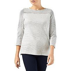 Dash - Textured Stripe Top