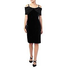 Jacques Vert - Off The Shoulder Velvet Dress