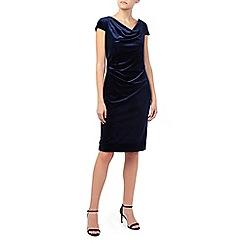 Jacques Vert - Cap Sleeve Velvet Dress
