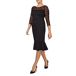 Jacques Vert - Black Lace Detail Dress