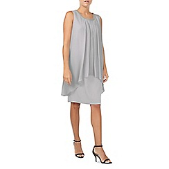 Jacques Vert - Emblished Neck Layers Dress
