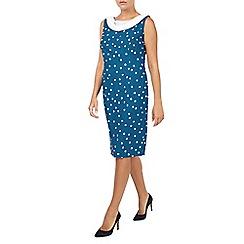 Jacques Vert - Spot Crepe Dress