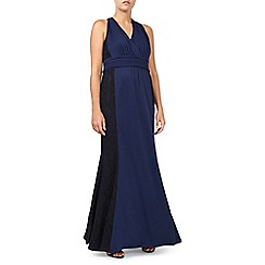 Jacques Vert - Lace And Jersey Maxi Dress