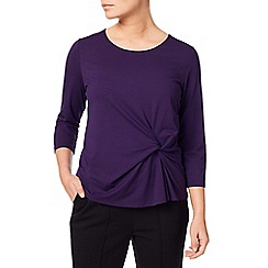 Eastex - Twist Front Jersey Top