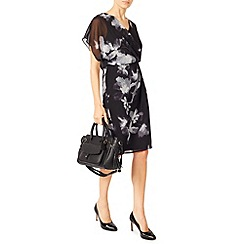 Jacques Vert - Floral Wrap Soft Dress