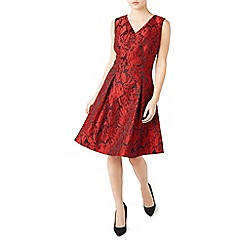 Jacques Vert - Petite Floral Jacquard Dress