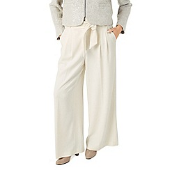 Jacques Vert - Pleat Wide Leg Trouser