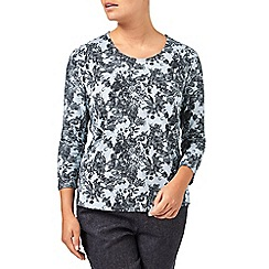 Eastex - Balmoral Lace Print Top