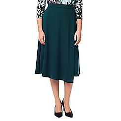 Eastex - Ponte Faux Wrap Skirt Shorter