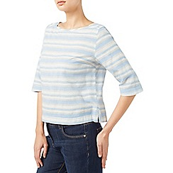 Dash - Stripe Linen Shell Blouse