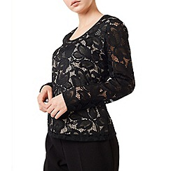 Precis - Vana Floral Lace Jersey Top