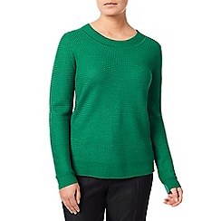 Eastex - Textured scoop jumper