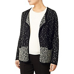 Eastex - Colour Block Knitted Jacket