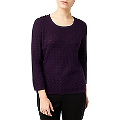 Eastex - Raisin Square Stitch Jumper