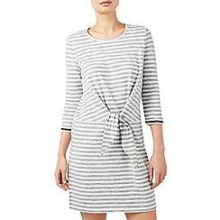 Dash - Stripe Tie Front Dress
