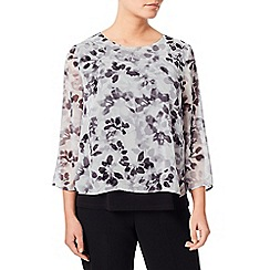 Eastex - Printed Double Layer Blouse