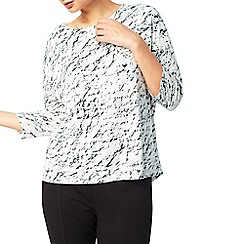 Dash - Lunar texture burnout top