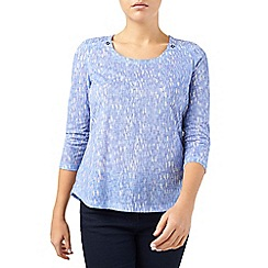 Dash - Printed Tile Jersey Top