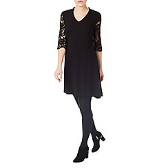 Precis - Sienna Texture Trapeze Dress