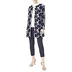 Precis - Elena floral jacquard coat