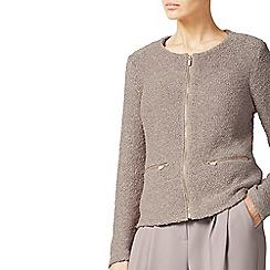 Jacques Vert - Zip Front Sparkle Knit Jacket