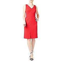 Precis - Lianna coral shift dress