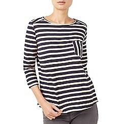 Dash - Stripe Jersey Top