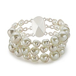 Jacques Vert - Three Row Pearl Bracelet