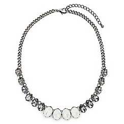 Jacques Vert - Oval Multi Stone Necklace