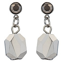 Jacques Vert - Facet Glass Drop Earrings