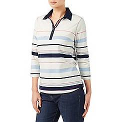 Dash - Navy white stripe rugby top