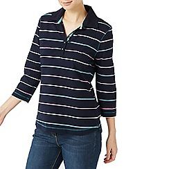 Dash - Multicoloured stripe rugby top