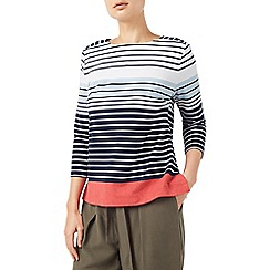 Dash - Colour block stripe top