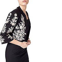 Precis - Daphne Embroidered Crop Jacket