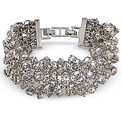 Jacques Vert - Diamante Cluster Bracelet