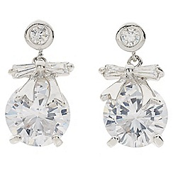 Jacques Vert - Bow Stone Earrings