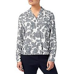 Eastex - Jacquard print blouse