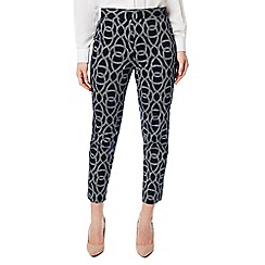Eastex - Rope print trousers