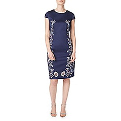 Precis - Petite adele embroidered dress