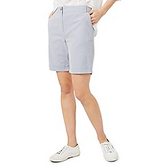 Dash - Mid blue shorts ticking stripe