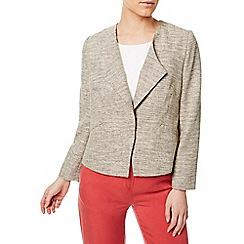 Eastex - Textured linen look jacket