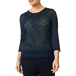 Eastex - Layered Jacquard Top