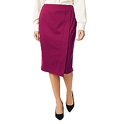 Eastex - Wrap ponte pencil skirt