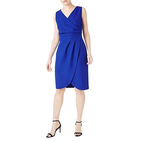 Precis - Purple ria wrap dress- web only